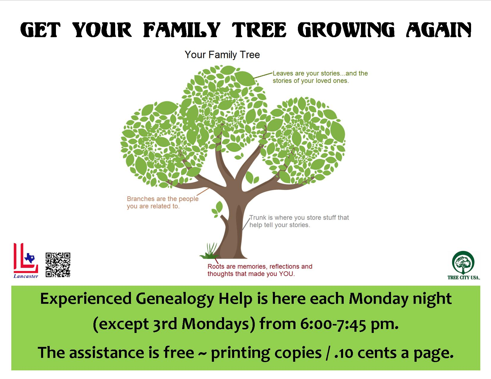 Genealogy Help Night