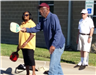 Pickleball Players - Diana Wortham and Louie Chiles