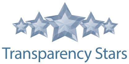 Financial Transparence Star Graphic